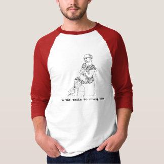 camiseta para hombre con caricatura a mano