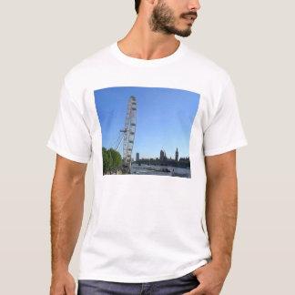 Camiseta para hombre con la noria del ojo de