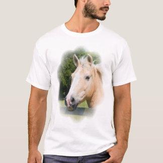 Camiseta para hombre de caballo de la cabeza de la
