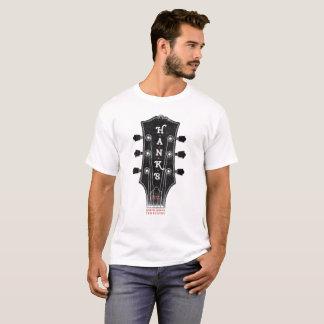 Camiseta (para hombre) de la cabeza de la guitarra