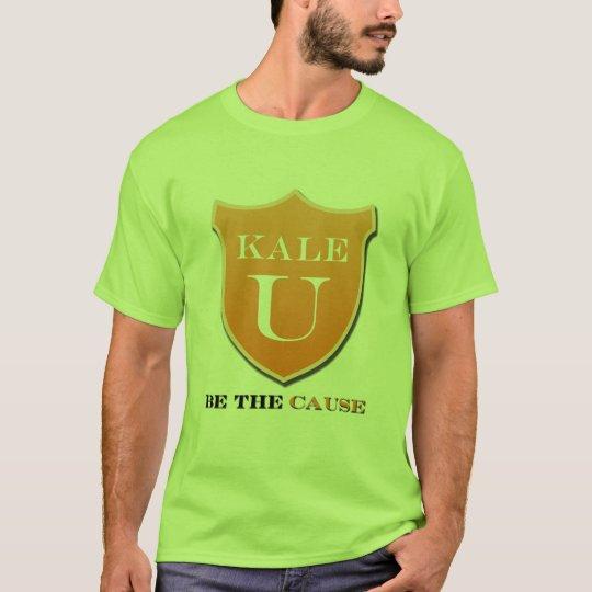 Camiseta para hombre de la col rizada U