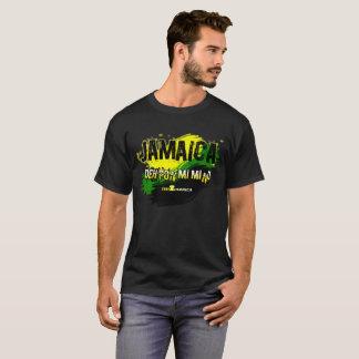 Camiseta para hombre de la mente de Jamaica Deh