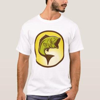 Camiseta para hombre de la perca americana