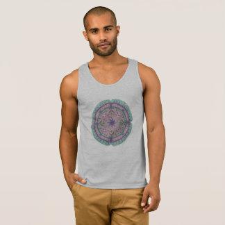 Camiseta para hombre de las camisetas sin mangas