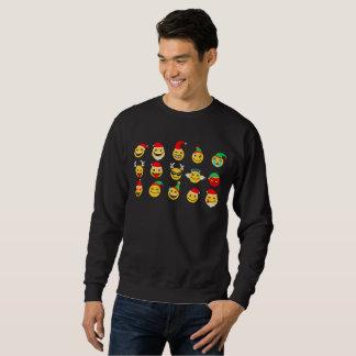 camiseta para hombre de las caras felices del