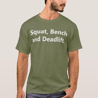 Camiseta para hombre de Powerlifting