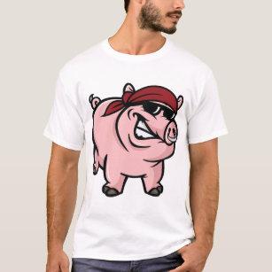 Camiseta para hombre del cerdo salvaje 71546c543b782