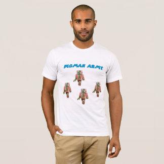 Camiseta para hombre del ejército de Pigman