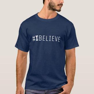 Camiseta para hombre del #IBELIEVE