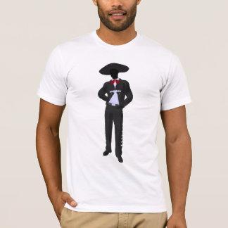 Camiseta para hombre del Mariachi de la silueta