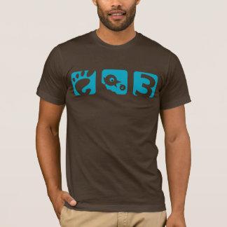 Camiseta para hombre del pájaro del GNOMO 3