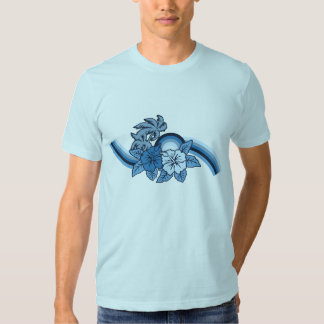 Camiseta para hombre del safari que practica surf