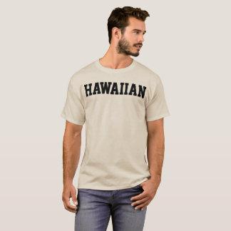 Camiseta para hombre HAWAIANA de la letra del