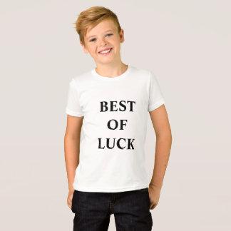 camiseta para los adultos jovenes