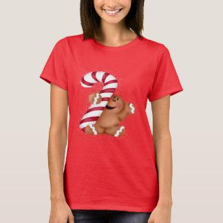Camiseta Camiseta para mujer básica del pan del jengibre