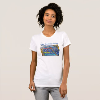 Camiseta para mujer cristiana del río Truckee Reno