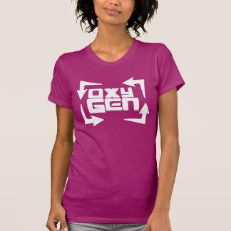 """camiseta para mujer de la """"cita"""" del oxígeno -"""