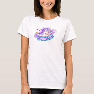 Camiseta para mujer de la gimnasia