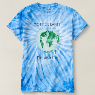 Camiseta para mujer de la madre tierra de marzo de