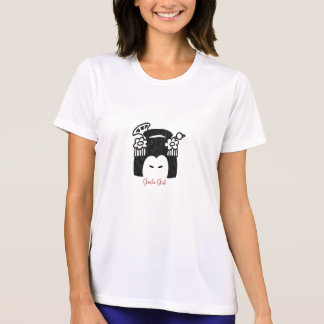 Camiseta para mujer de la microfibra de la marca