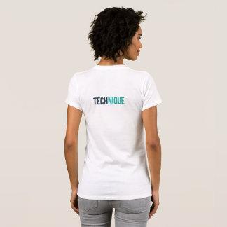 Camiseta para mujer de la técnica (blanca)
