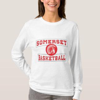 Camiseta Para mujer de manga larga del baloncesto espartano