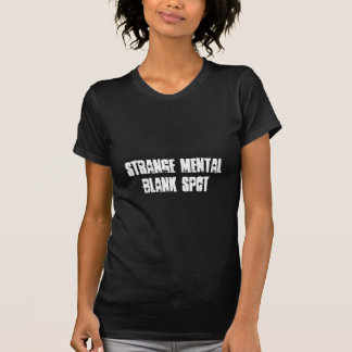 Camiseta para mujer del aa del punto en blanco