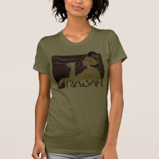 """Camiseta para mujer del CAFÉ de RAJAH"" Camiseta"