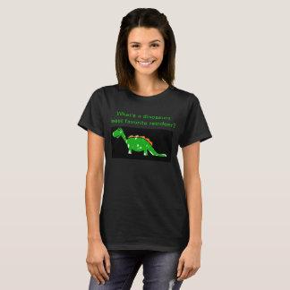 Camiseta para mujer del chiste del dinosaurio