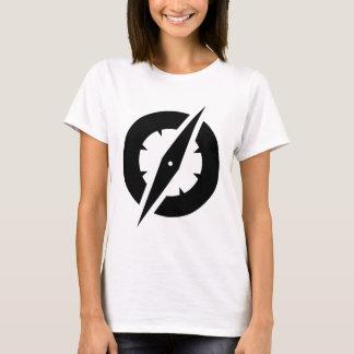 Camiseta para mujer del compás de GlobalGen