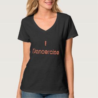 camiseta para mujer del cuello en v