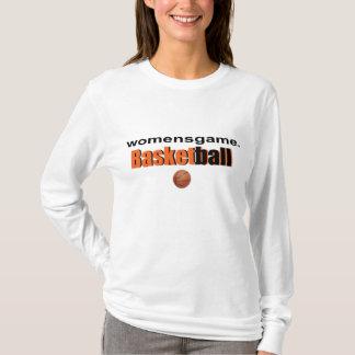 Camiseta para mujer del deporte del baloncesto