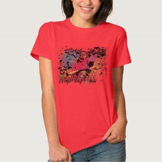 Camiseta para mujer del Grunge de la moda