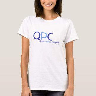 Camiseta para mujer del logotipo de QPC