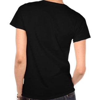 camiseta para mujer del motocrós de la zona de la