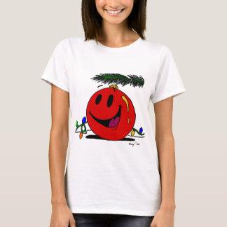 Camiseta para mujer del ornamento feliz