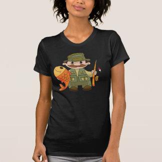 Camiseta para mujer del pescador