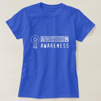 Camiseta para mujer del rompecabezas de la