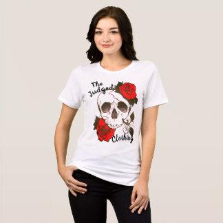 camiseta para mujer thejudged rosed rojo del