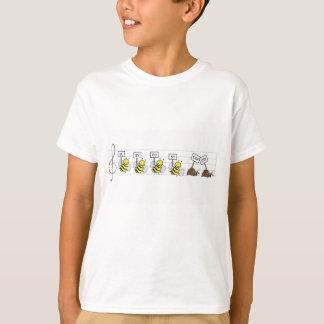 Camiseta ¡Parada ocupada ocupada de la parada - diversión