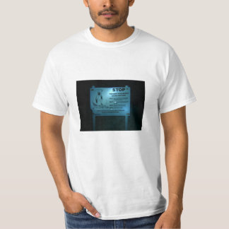Camiseta parada: prevenga su muerte