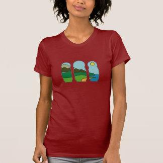 Camiseta paraiso natural