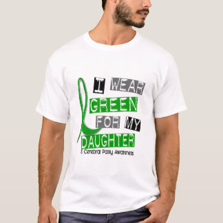 Camiseta Parálisis cerebral llevo el verde para mi hija 37