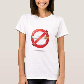 Camiseta pare el cigarrillo