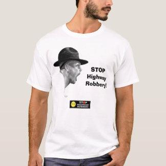Camiseta PARE el robo de la carretera