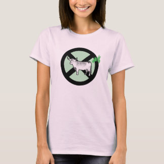 Camiseta ¡Pare la vaca Fart conspiración!