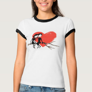 camiseta pareja