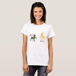 Camiseta Pares Metal-De cuernos del unicornio - Cuprum y