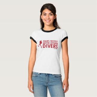 Camiseta Pares Niza con otros buceadores