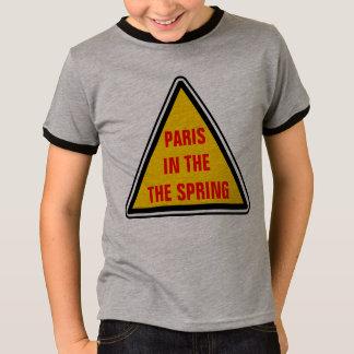 Camiseta París en el primavera